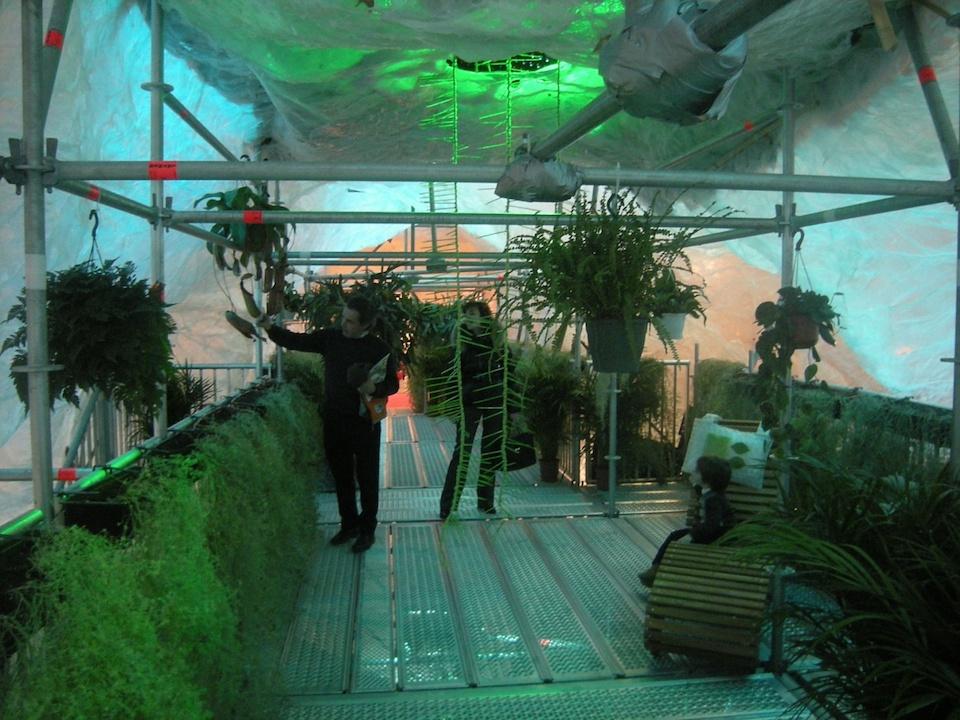 Le jardin suspendu de l 39 imaginaire paysage roger hofstetter art et paysage - Jardins de l imaginaire terrasson ...